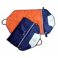 Eco-Friendly Navy Nylon Fabric Suit Garment Bag For Suit Packaging Manufactures