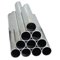 China sus800, sus840 stainless steel welded Bright pipes with PVC tape for autocars on sale
