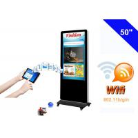 Free Standing WiFi Digital Signage kiosk LCD Advertising Media Monitor Manufactures