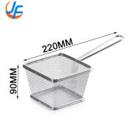 Quality Metal Food Service Metal Fabrication Stainless Steel Wire Mesh French Fries Fry for sale