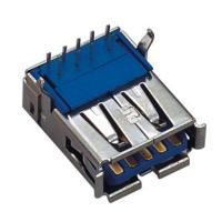 Computer Pin Connectors USB 3.0 A Type 9p Right Angle SMT SINK Stype 3.50mm Manufactures