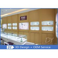 Quality Attractive Jewellery Counter Display / Gold Shop Counter Design for sale