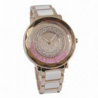 China Jewelry Ceramic Watch from Aixin, Fashionable Design on sale