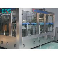 275ml / 300ml /500ml Glass Bottle Carbonated Soda Filling Machine Automatic 3 - In -1 Manufactures