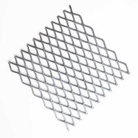 XS-72 Galvanized Expanded Steel Mesh Sheets With Small Aperture Size Manufactures