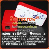 3G Convert to Wi-Fi wireless router Contain Mobile Power 3600MAH battery capacity Manufactures