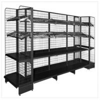Carbon Steel Durable Tool Storage Rack Wire Mesh Supermarket Gondola Shelf Manufactures