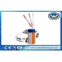 China Vehicle Security Parking Lot Barrier Gate , Barrier Boom Gate Blue And Orange on sale