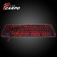 3 Multi-color Illuminated LED Backlit USB Wired Professional Multimedia Gaming Keyboard for PC Laptop Manufactures