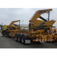 Tri-Axle Side Lifter Container Side Loader Trailer For 20 Ft 40ft Container Manufactures