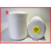 Abrasion - Resistant Raw White Polyester Yarn On Hollow Plastic Dyeing Tube Manufactures