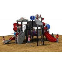 Outdoor Toys Structures Type kids plastic multi playgrounds  exercise equipment Manufactures