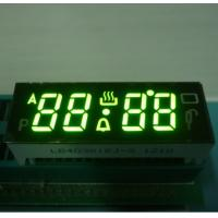 Black Face Numeric LED Display , 7 Segment 4 Digit Display With 120C Operating Temperature Manufactures
