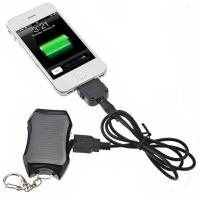 1200mAh mini keychian solar power bank for mobile phone with cheapest price and high quali Manufactures