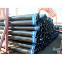 China welded black steel pipes on sale