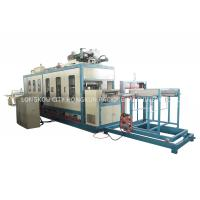 Three Phase 380V 50Hz Fast Food Box Machine / Food Container Production Line Manufactures