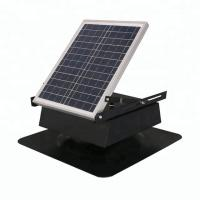 20w Small Solar Powered Vent Fan Fresh Air Auto Cool For Keep Houses Dry Manufactures