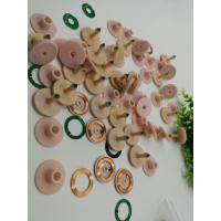 Pink Colour Livestock Ear Tags UHF Ear Tags Thermoplastic Polyurethanes Material Manufactures