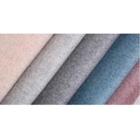 820G/M Plain Double Sided Wool Fabric For Women'S Overcoat Manufactures