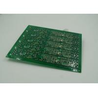Double Sided Rigid PCB Board of FR4 Laminate Green Solder ENIG Finish Manufactures