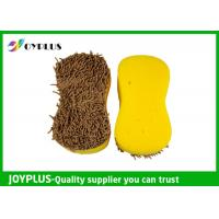 China Car Cleaning Sponge With Chenille Side on sale