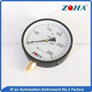 200mm 250mm Bottom Mounting General pressure gauge