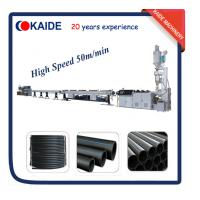 Plastic Pipe Production Machine for HDPE pipe High Speed KAIDE factory Manufactures