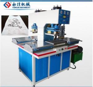 PVC fabric t-shirt embossing machine hot press machine Manufactures