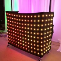 1 x 2m Rgb 3in1 Colorful LED Video Curtain , Professional Decoration LED Light Curtain Manufactures