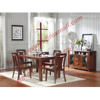 High Quality Solid Wooden Furniture Dining Table with Chair Manufactures