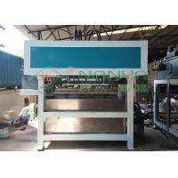 Energy Saving Pulp Molding Equipment , Egg Box Making Machine Low Noise Manufactures