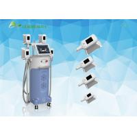 4 Handles Weight Loss Cryolipolysis Slimming Machine / Body Shaping Fat Burner Equipment Manufactures