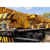 Efficient Second Hand Crane 70 Ton Crane XCMG QY70K Rated Loading Capacity for sale