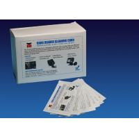 ATM CR80 Flat Cleaning Card , Pre Saturated Atm Cleaning Cards With IPA Solution Manufactures