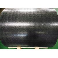 Waterproof Color Coated Aluminum Sheet , Stucco Pattern Painted Aluminum Coil  Manufactures