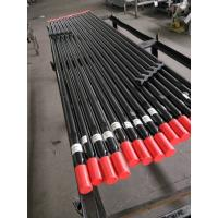 Buy cheap T38 T45 T51 Black Threaded Drill Rod For Tunnel Bench Drilling SGS Certification from wholesalers