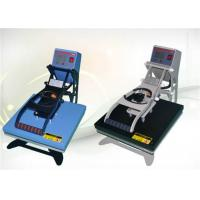 High Accuracy Industrial  Heat Press Machine With Flat Work Table and LCD Display Manufactures