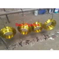 China Lap Joint Carbon Steel Forged Flanges , Flat Face Weld Neck Flange ASME B16.5 on sale