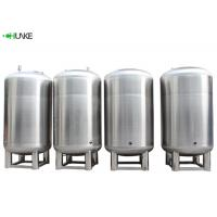 China Medical Treatment SS RO Water Storage Tank 3mm Thickness  5000 / 10000 Litres on sale