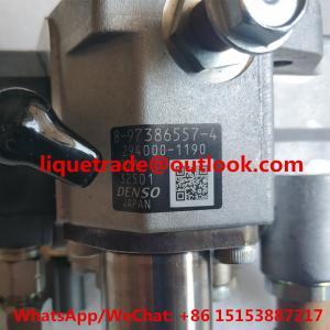 DENSO fuel pump 294000-1190, 294000-1191 for ISUZU 8-97386557-4 , 8973865574 , 8-97386557-5 , 8973865575 Manufactures