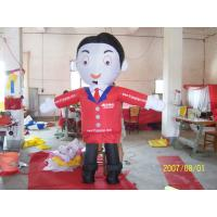 PVC Commercial Inflatable Cartoon Characters , Inflatable Advertising Cartoon Manufactures