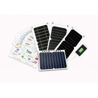 China ETFE Coating Solar Mobile Phone Charger 5W 6W 7W With Auto Restart Tech on sale