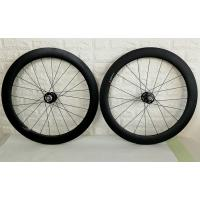 60mm Clincher Carbon Track Wheelset Fixex Gear Hub Type Environmental Friendly Manufactures