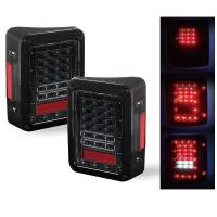 Red / White Turn Signal Backup Stop LED Tail Lights 6000K 3600 LM / Kit Manufactures