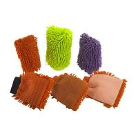 Exfoliating Hand Gloves Body Scrub Mitts Super Water Absorptivity Manufactures