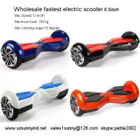 electric scooter adults two wheels two wheel hoverboard for sale Manufactures