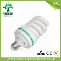 Decorative Indoor Full Spiral 40w 45w High Lumen Energy Saving Light Bulbs/ CFL Lamp Manufactures