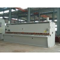 12 x 2500 mm CNC Hydraulic Plate Shearing Machine With CNC Control System Manufactures