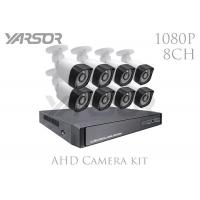 Full HD 1080P 4 IN 1 AHD Camera Kit 8 Channel 2.0MP IR Outdoor CCTV Cameras Manufactures