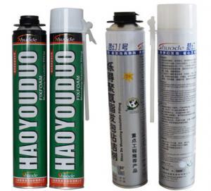 China DIY Spray Foam Insulation Kit 500ml/750ml gun/tube typemanufacturer/factory (ROHS/SGS/REACH) on sale